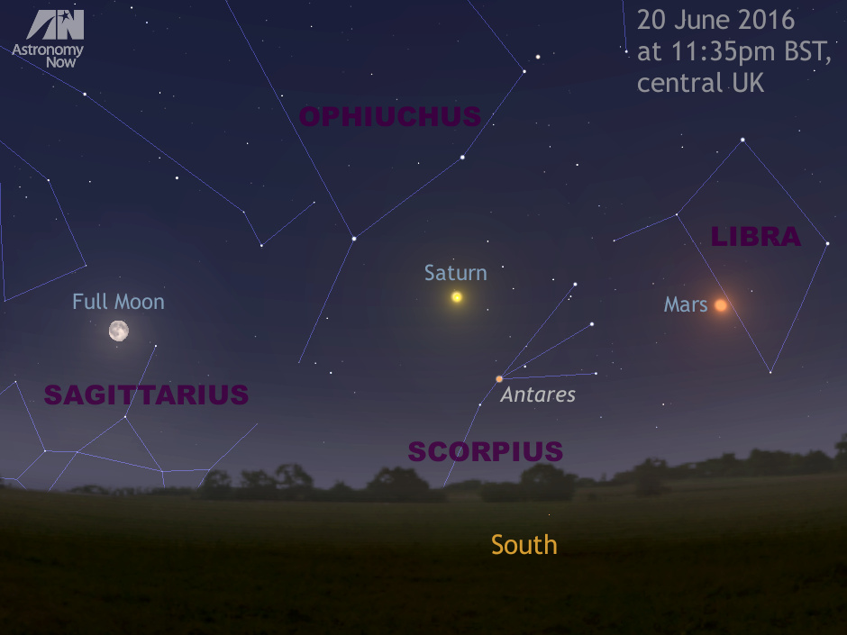 See a summer solstice full Moon rising tonight \u2013 Astronomy Now