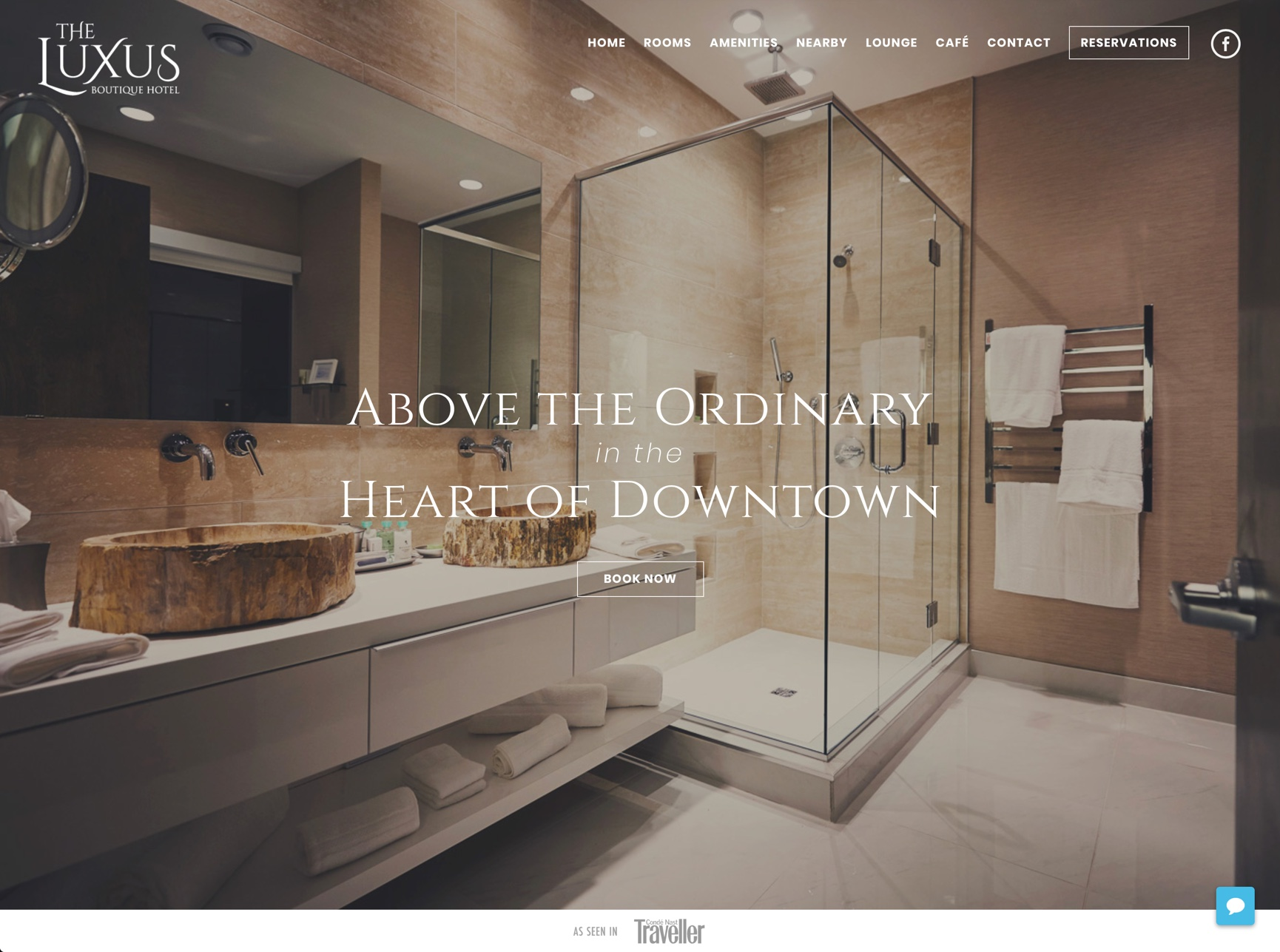 Luxus Design The Luxus Boutique Hotel Lounge Website Big Bright Sun