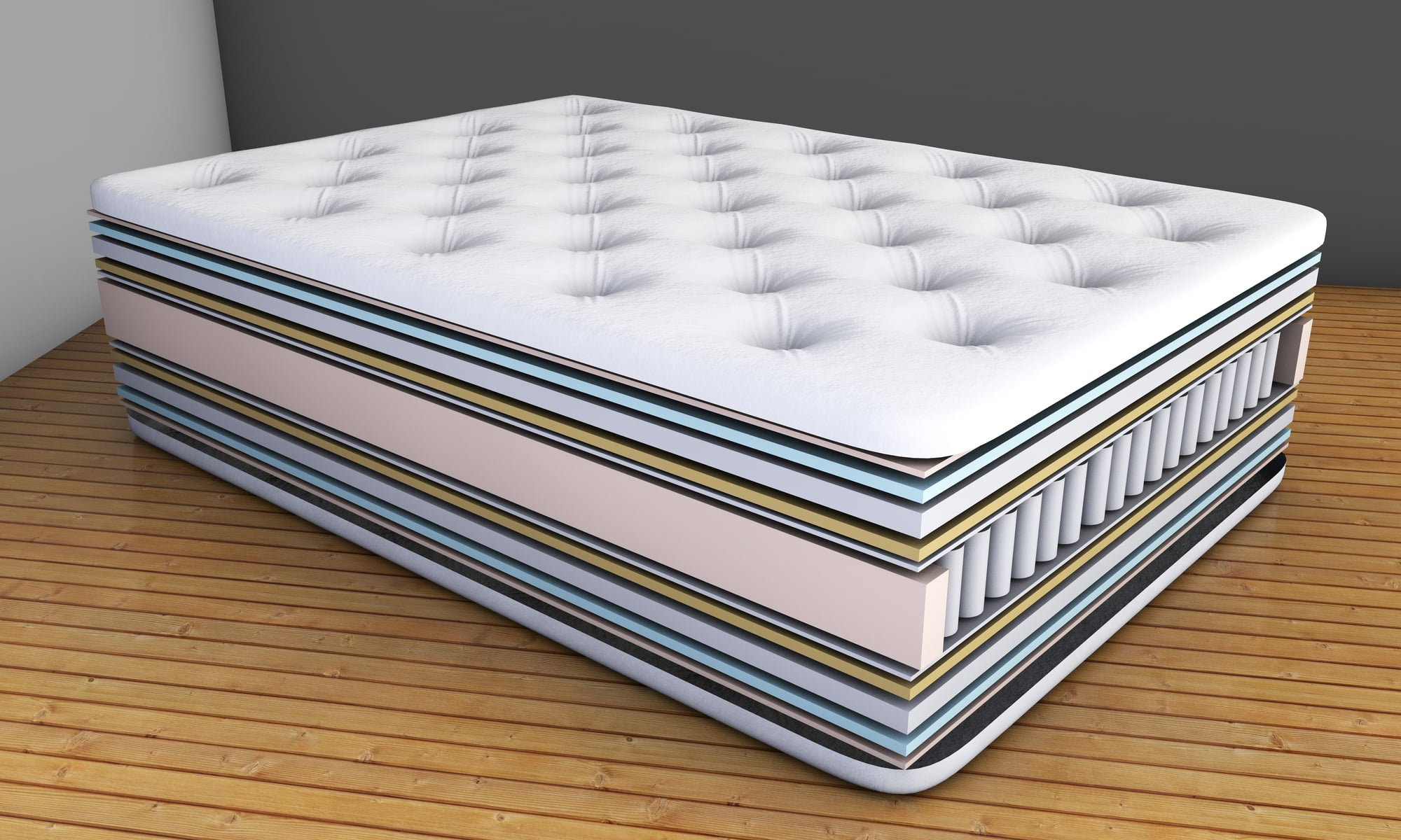 Best Traditional Mattress Best Hybrid Mattress Reviews For 2019 Top 10 Selections