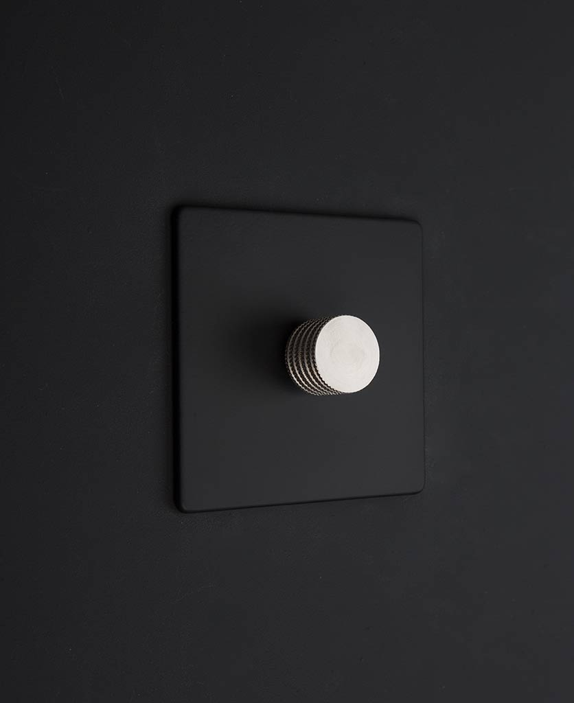 Dimmer Switch Black Single Dimmer Switch