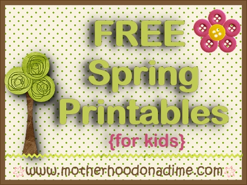 10 FREE Spring Printable Packs for Kids {300+ Pages!}