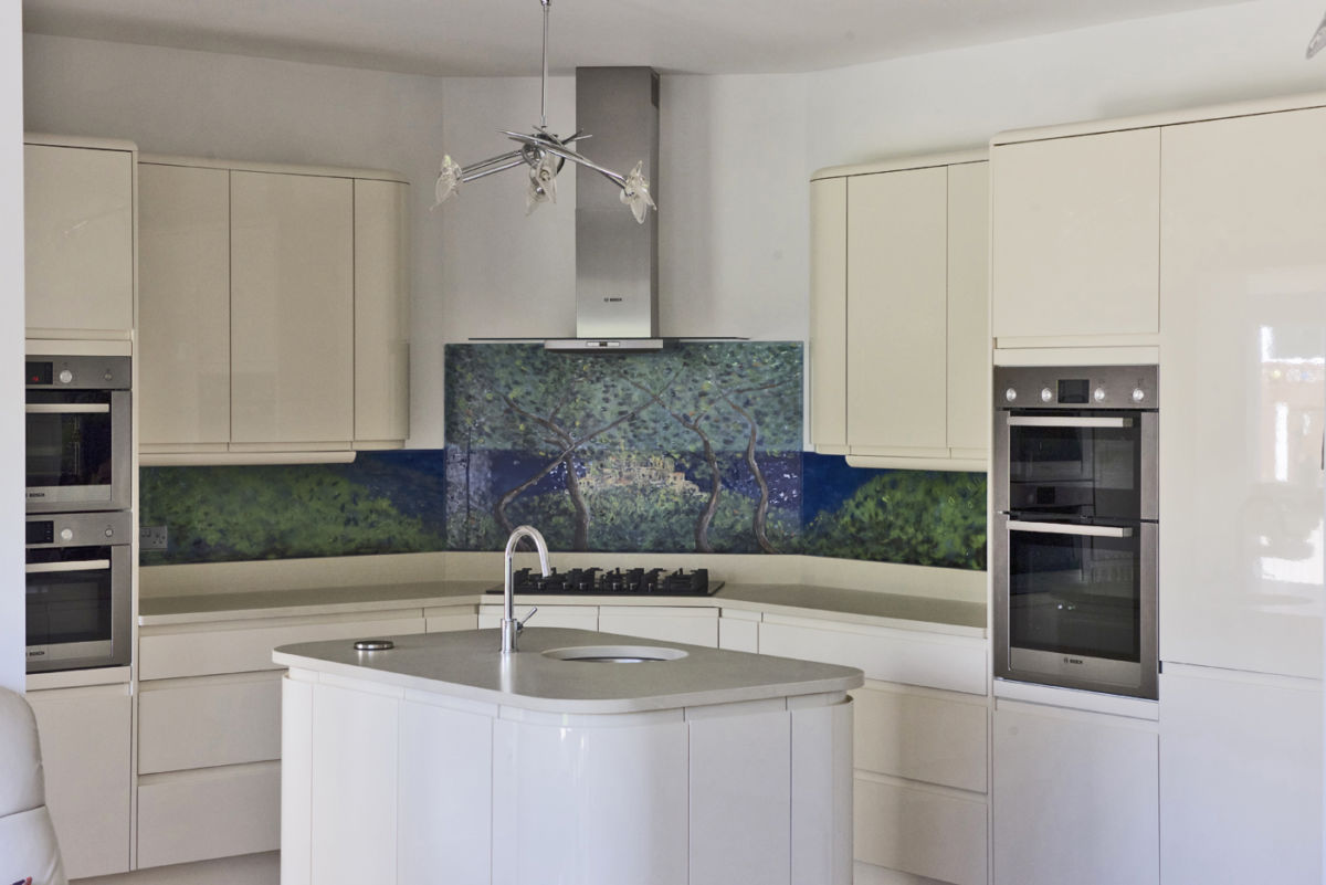 Kitchen Cupboard Painters Leicestershire Painting With Powder The House Of Ugly Fish Kitchen Splashbacks