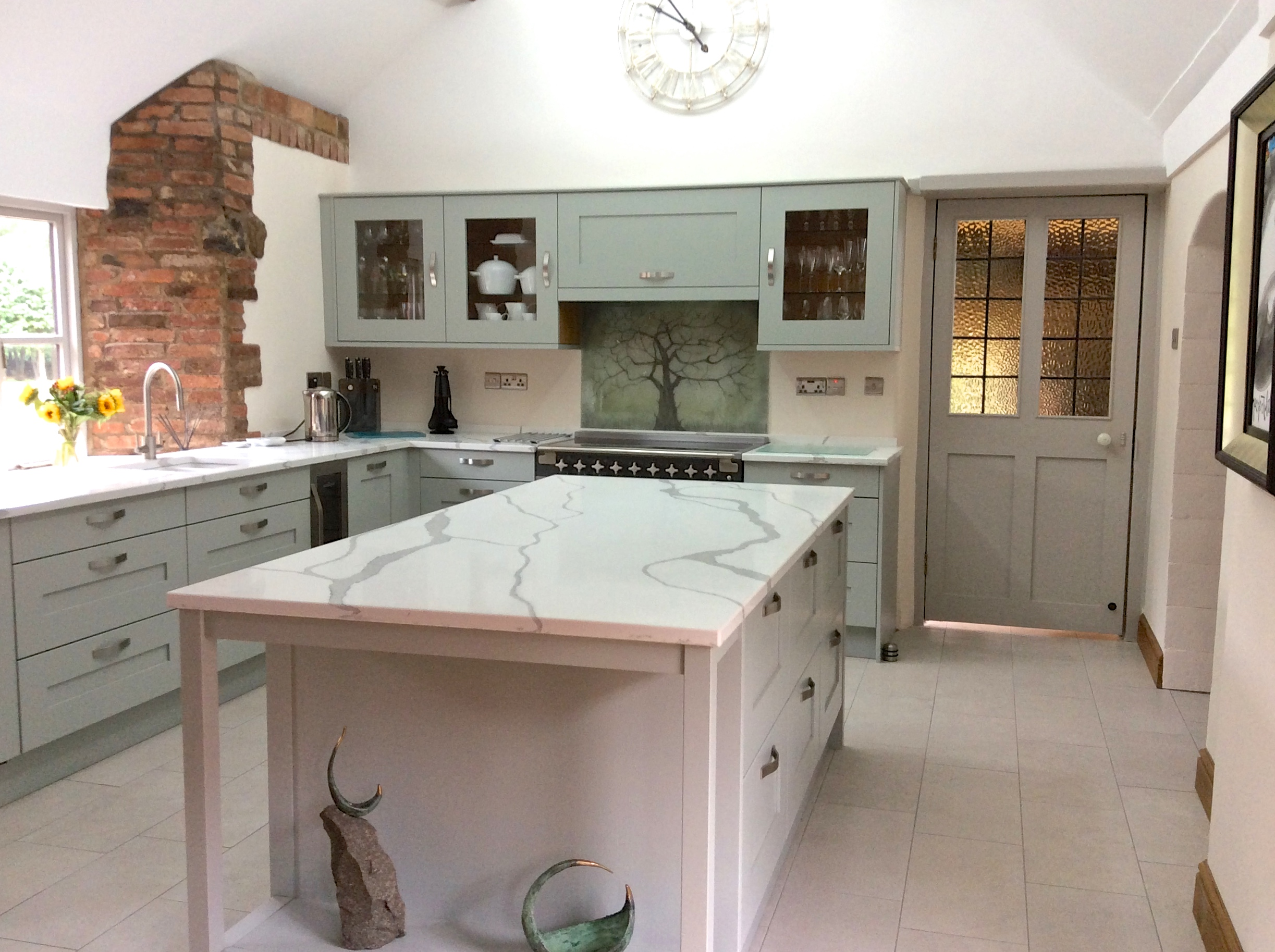 Kitchen Cupboard Painters Leicestershire A Tree For A Tremendous Space The House Of Ugly Fish