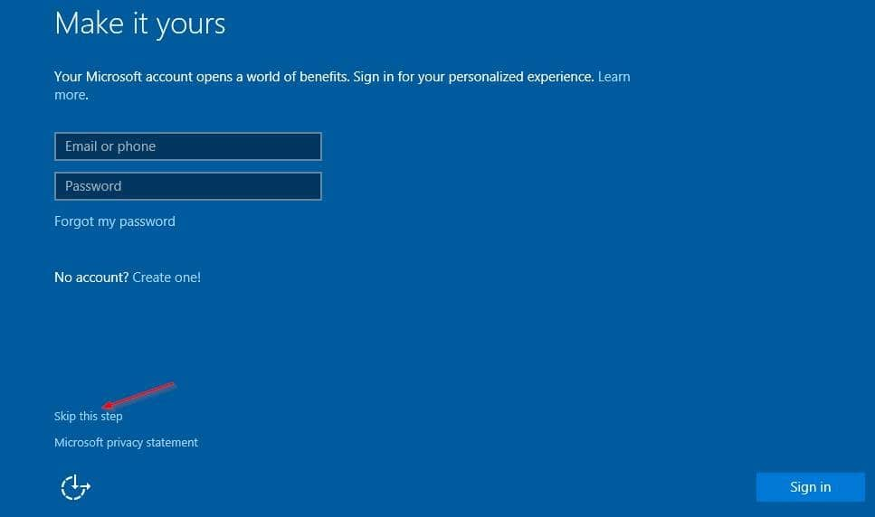 How To Install  Use Windows 10 Without Microsoft Account