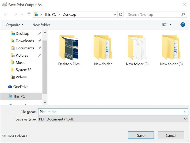 How To Convert Documents To PDF In Windows 10 Without Apps - Convert File To Pdf
