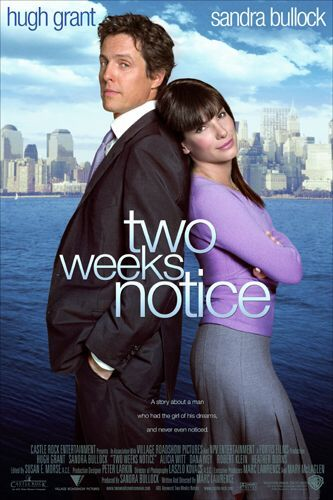 TWO WEEKS NOTICE Movieguide Movie Reviews for Christians