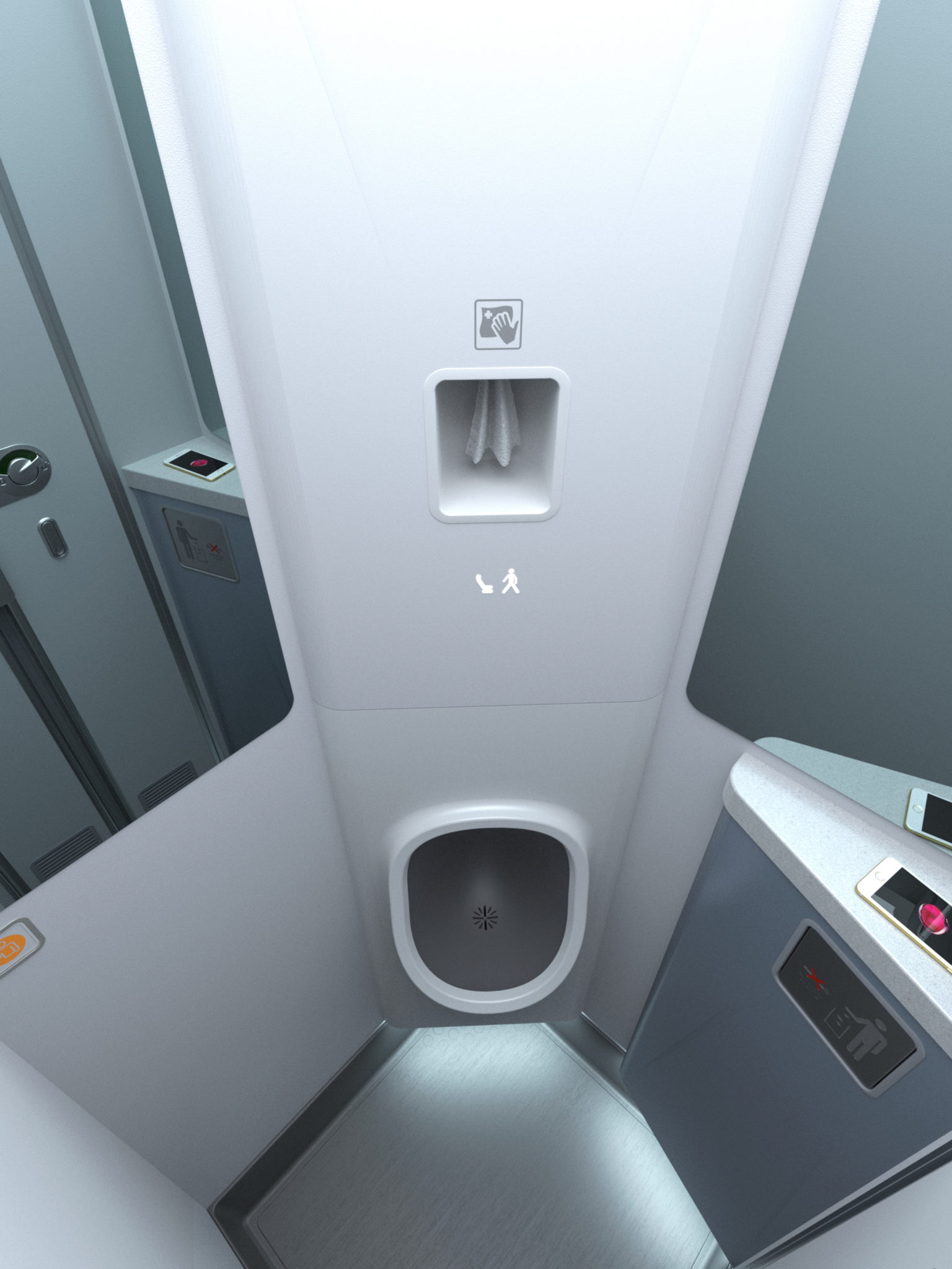 First Class A380 Lufthansa In The Unregulated Tiny Airline Lav Context, Is It Time
