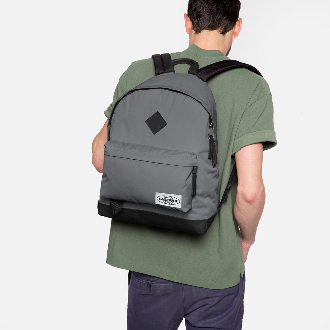 Eastpak Wyoming Backpack Into Concrete