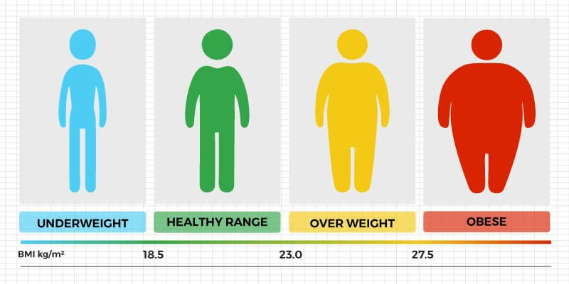 Indian BMI Calculator for Men  Women BMI Chart - Truweight
