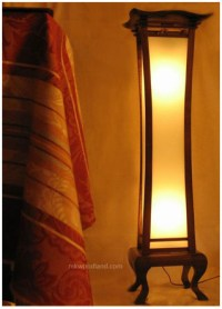 Home Design Lamp Shades: Asian Floor Lamps