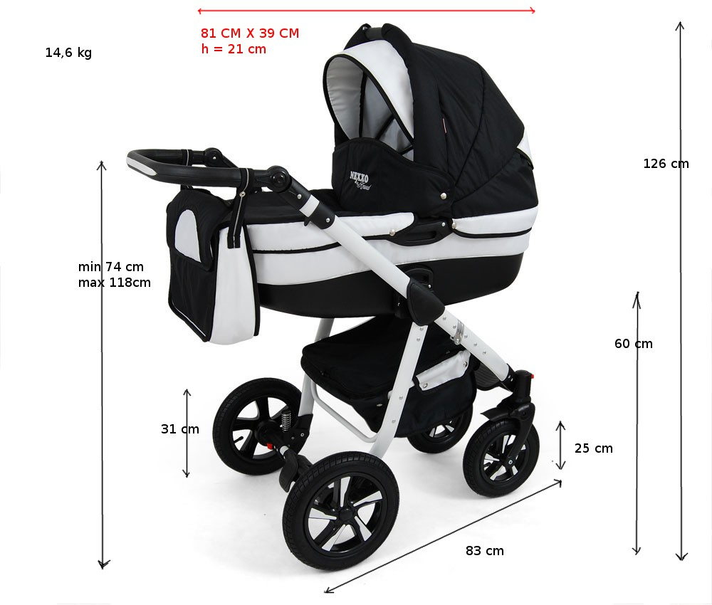 Regenschutz Kinderwagen Dm Preis Details About Nexxo Combi Pram 3in1 With Plastic Cover And Carrycot For Isofix Show Original Title