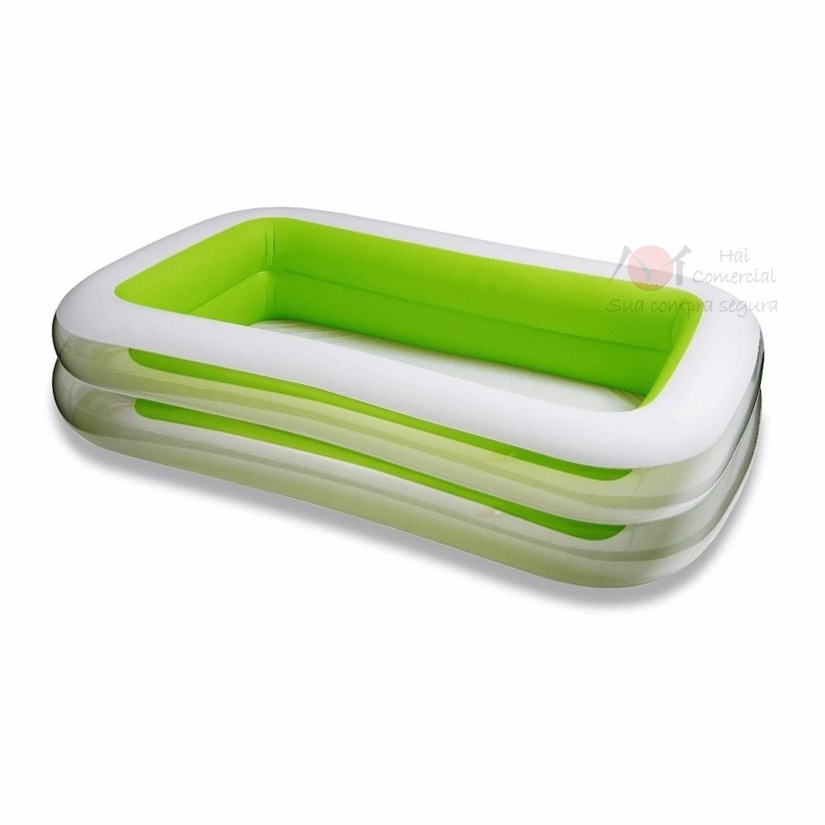 Piscina Intex Familiar Piscina Inflável Retangular Familiar Intex 749 Lts 43 Bomba