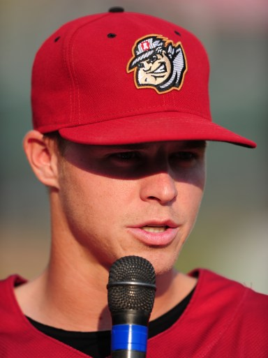 Brock Holt | Primary cap | Photo from 2012/Kevin Pataky/MiLB