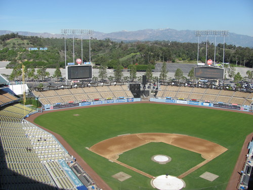 Pictures Taken From Dodger Stadium January 28, 2010 (1/6)
