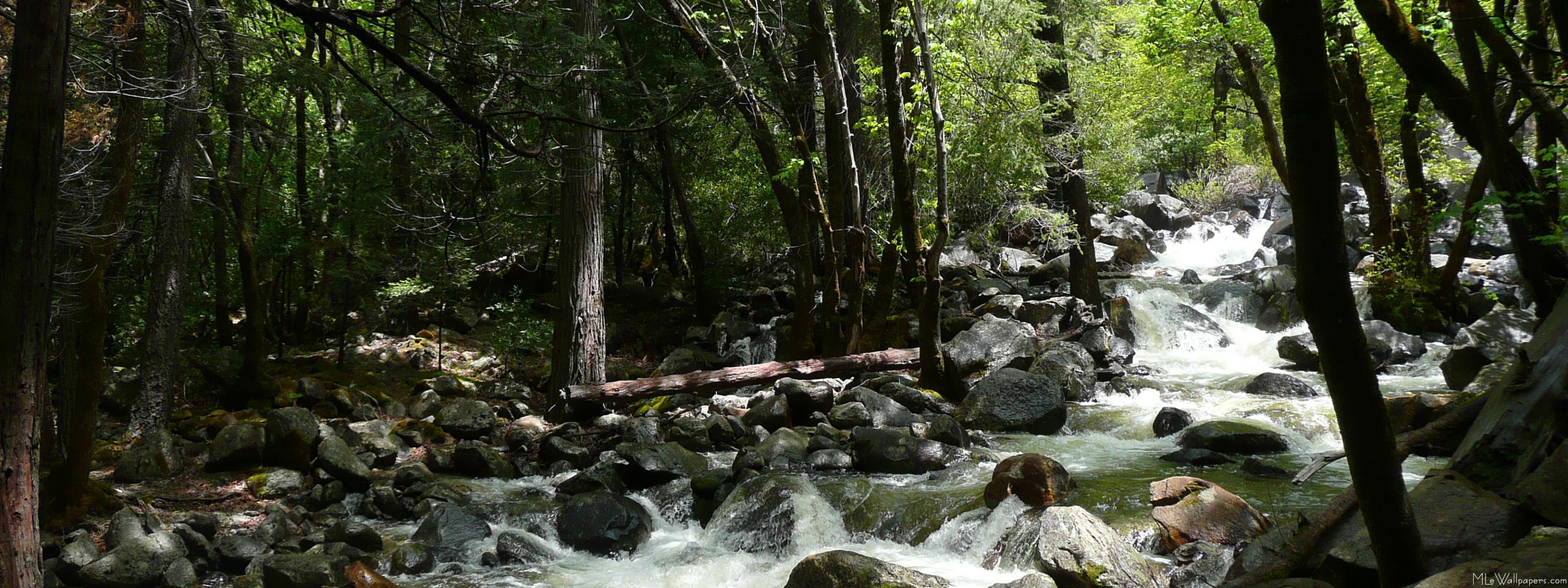 Yosemite Falls Wallpaper Mlewallpapers Com Bridalveil Creek
