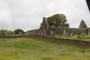 Remains of MacLeod cemetery