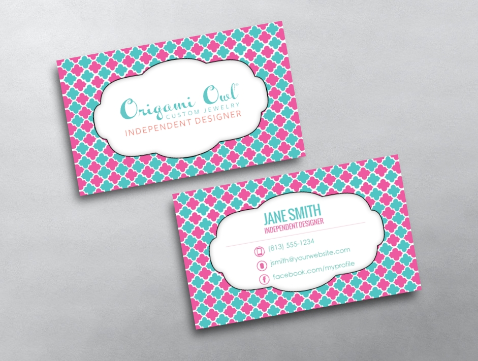 Comfortable origami owl blank business cards ivoiregion origami owl blank business cards colourmoves