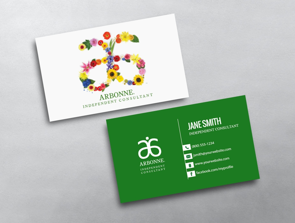 Arbonne Business Cards Free Shipping - Buisness Card Template