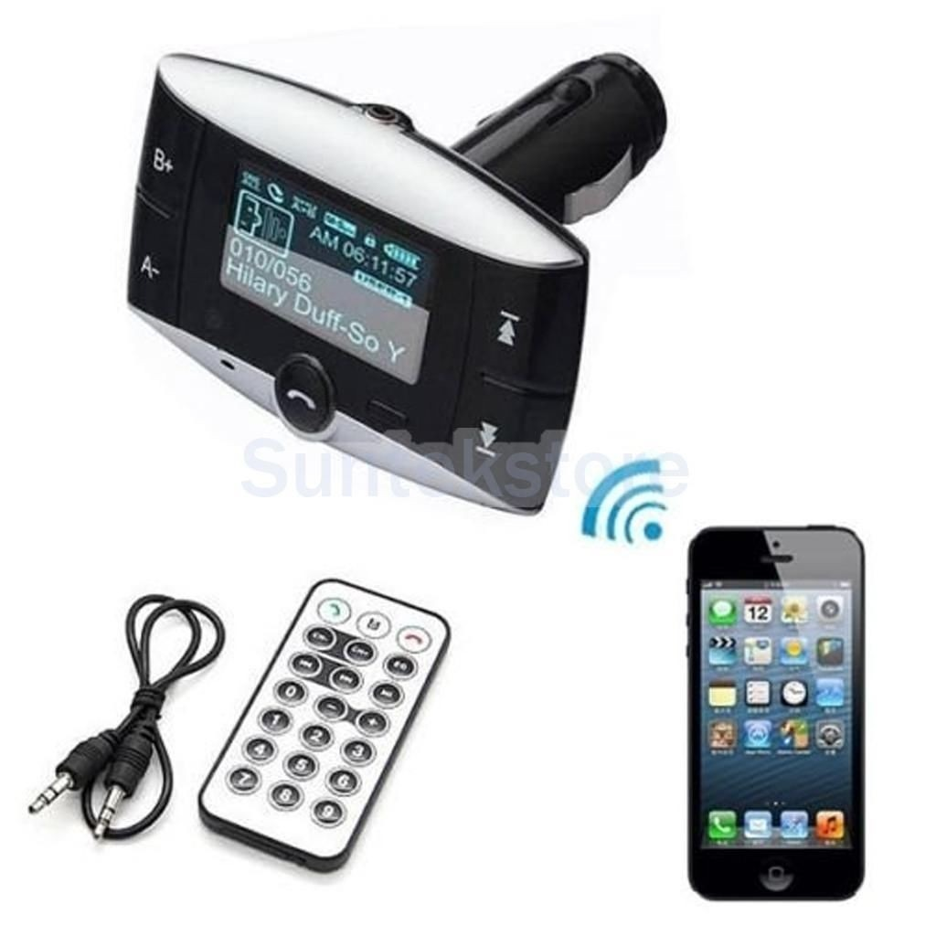 Manos Libres Bluetooth Amazon Transmisor Fm Con Manos Libres Bluetooth 540 00 En