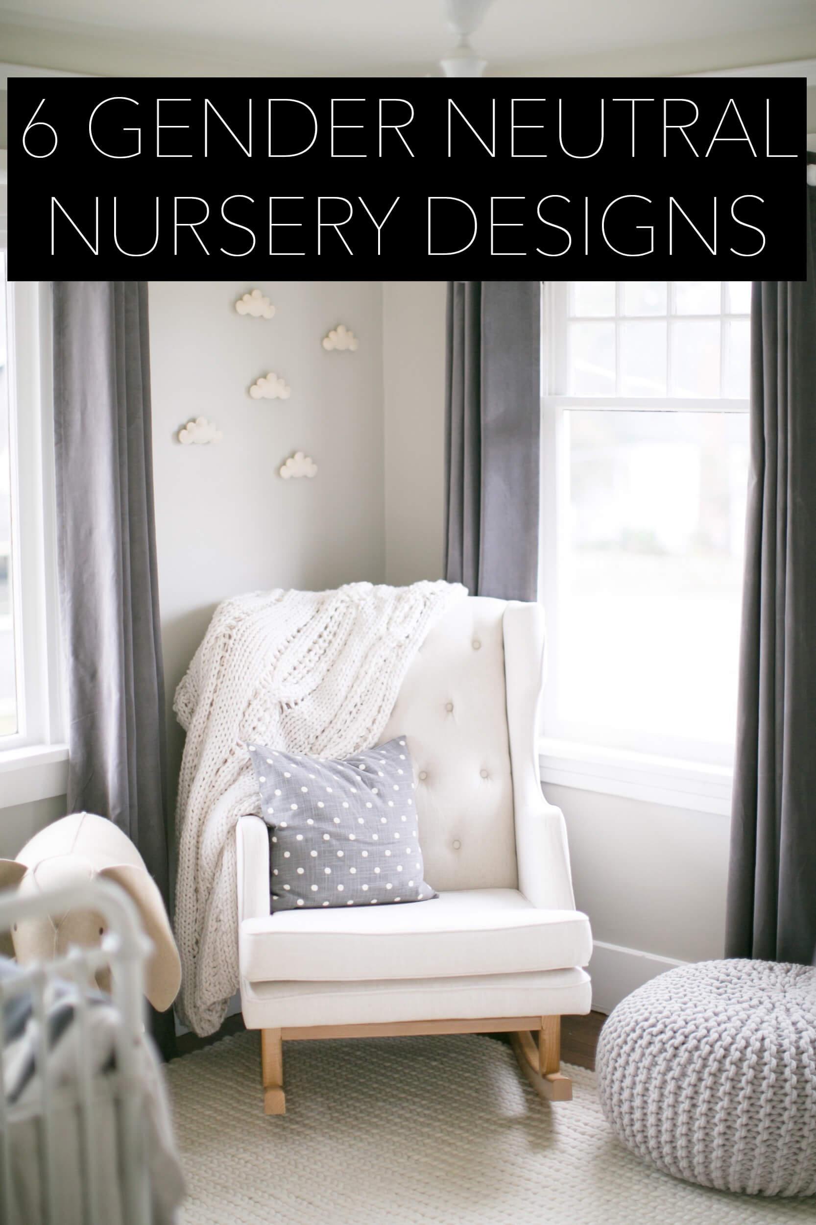 6 gender neutral nurseries
