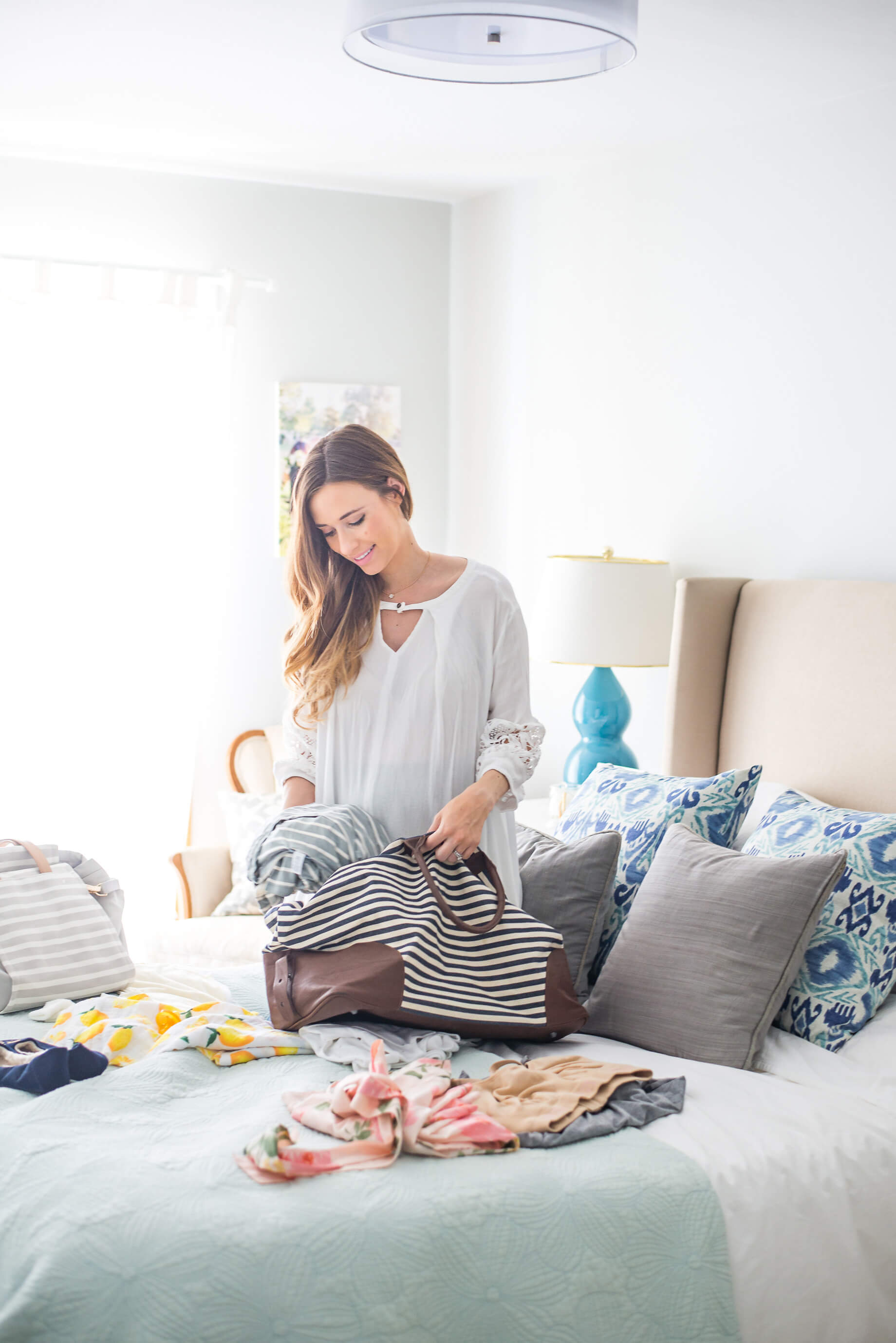 what to pack in your hospital bag (and what I didn't need)