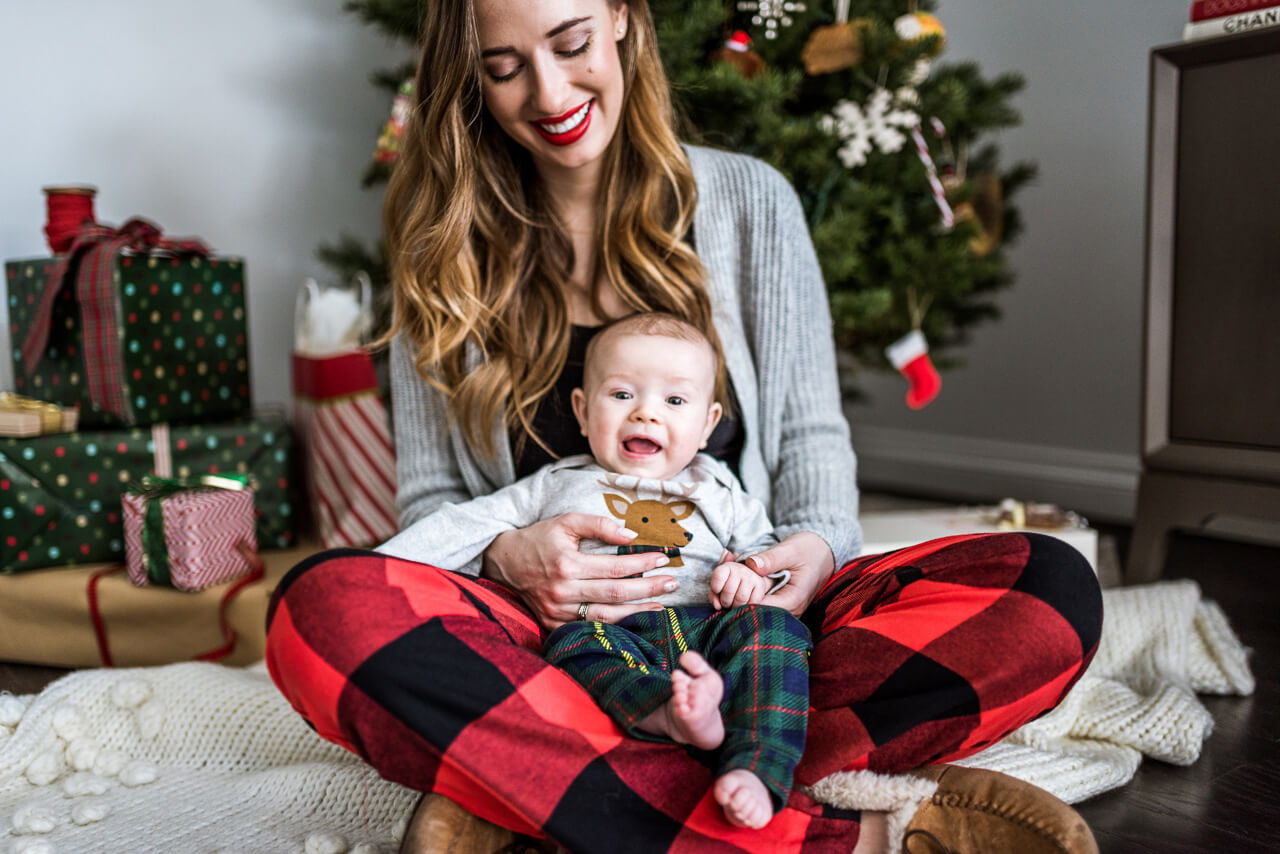 our baby's first christmas