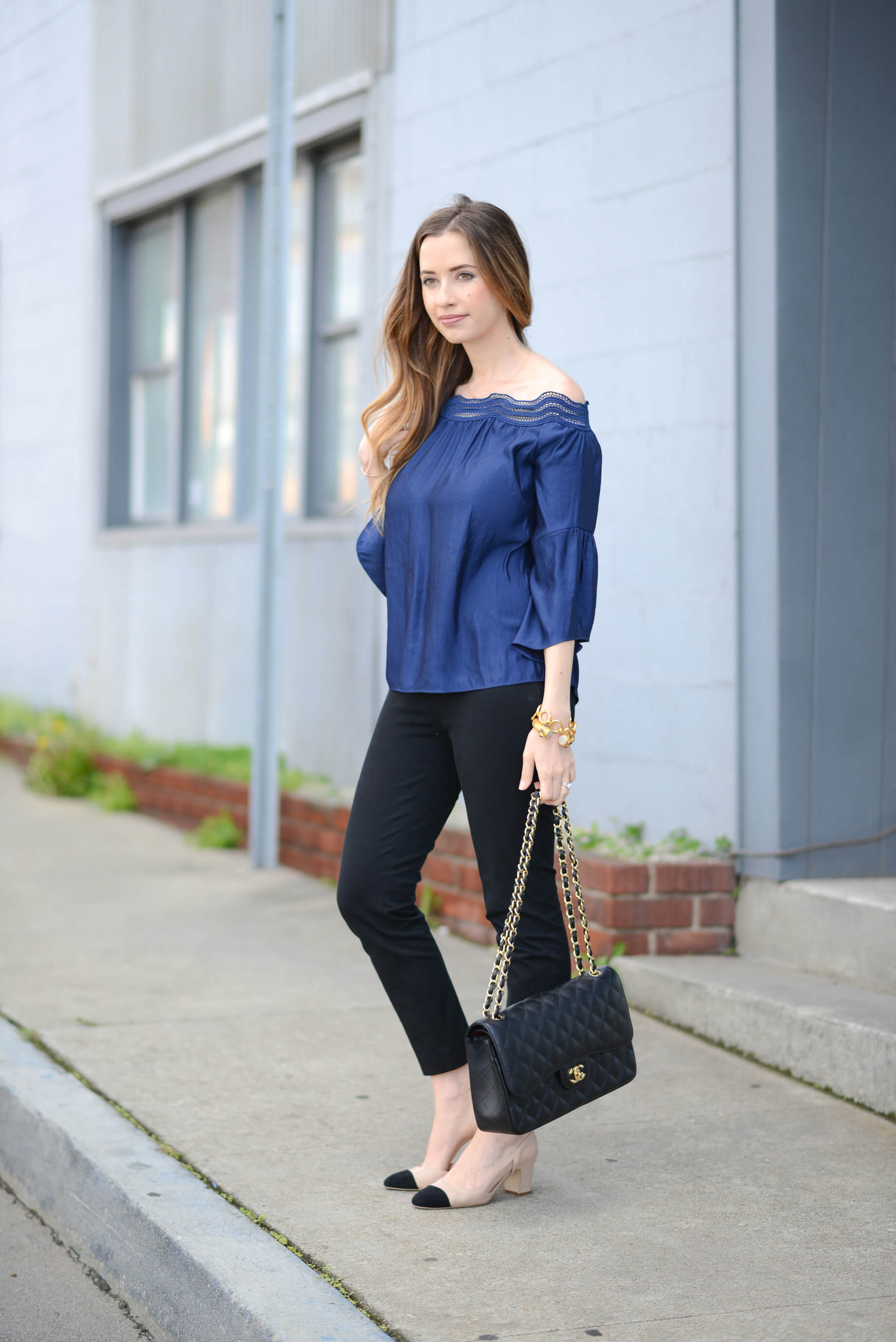Styling Navy with Black