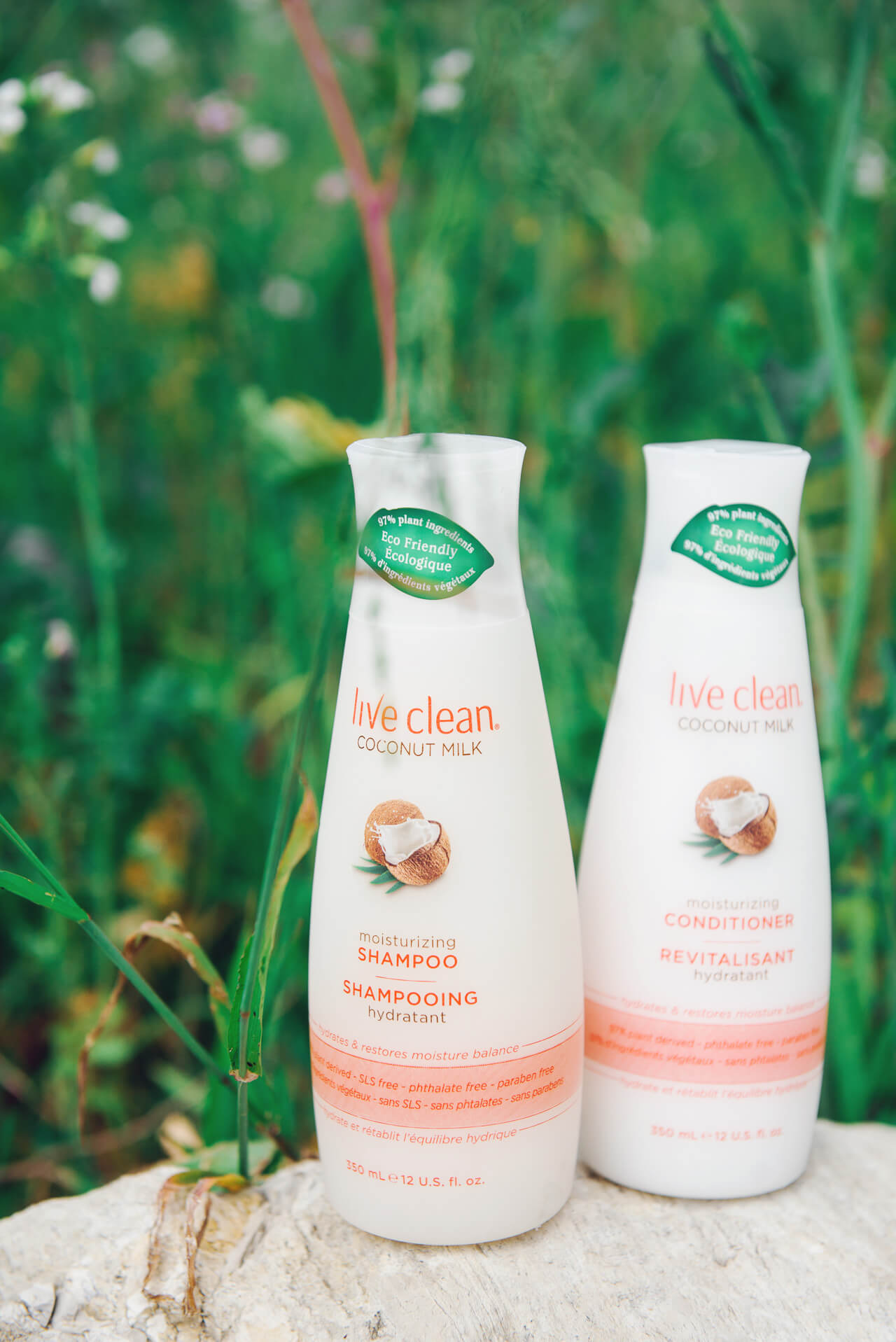 natural shampoo and conditioner option!