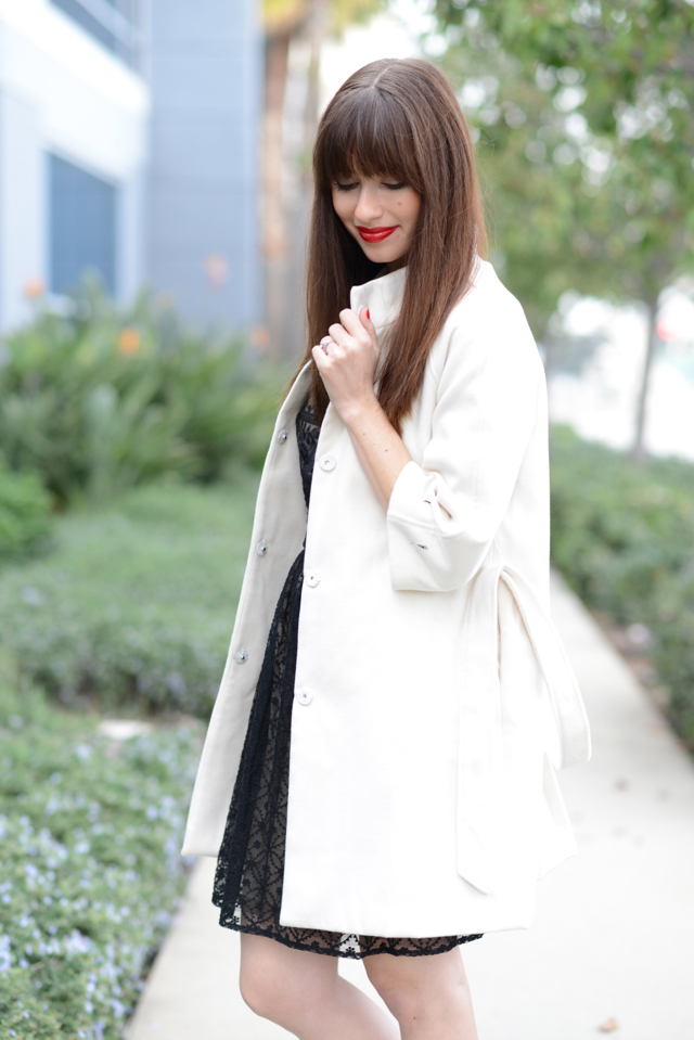 white belted coat on M Loves M @marmar