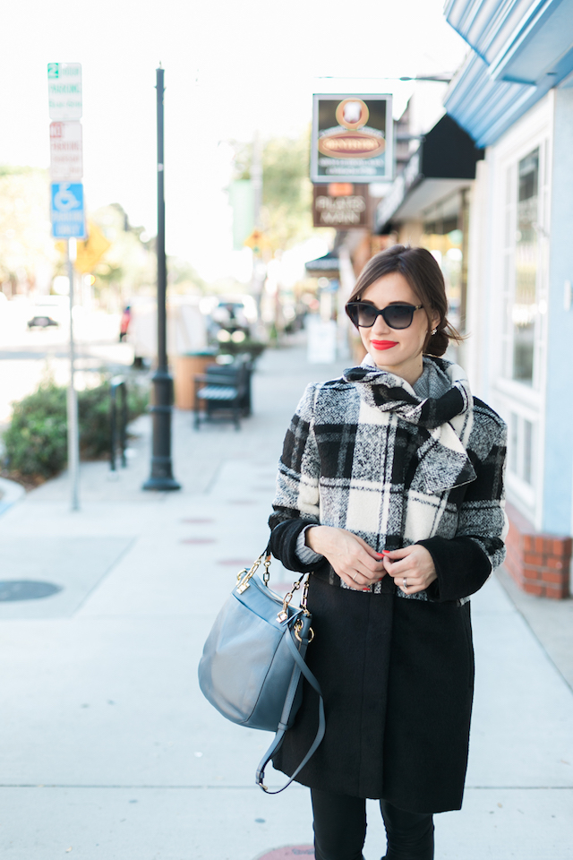 checkered plaid coat for winter M Loves M @marmar