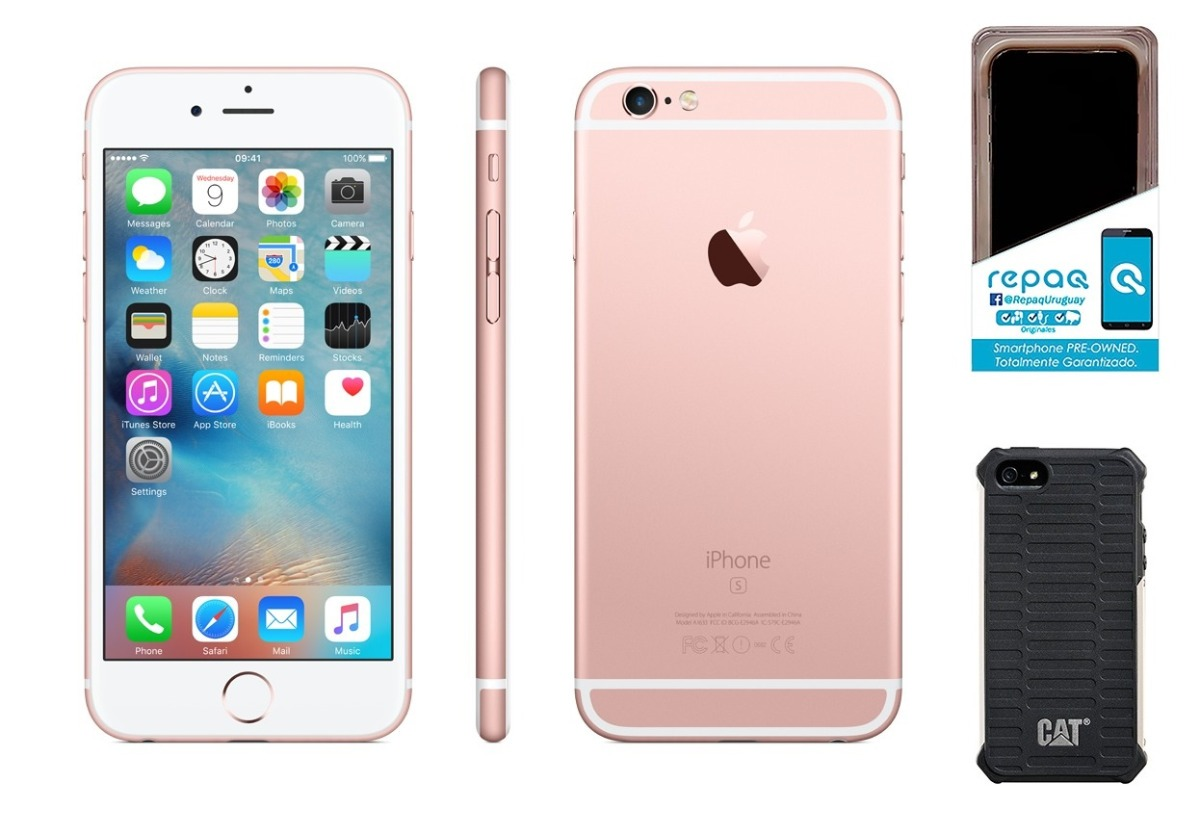 Iphone 5 S Libre Apple Celular Iphone 5s Libre 16gb 2gb Cpo Rosa Regalos