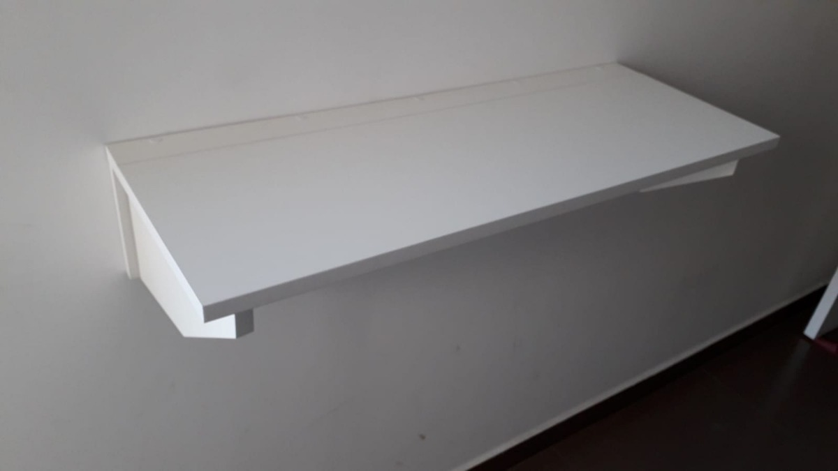 Mesa Pared Escritorio Mesa Rebatible Plegable A La Pared 150cm