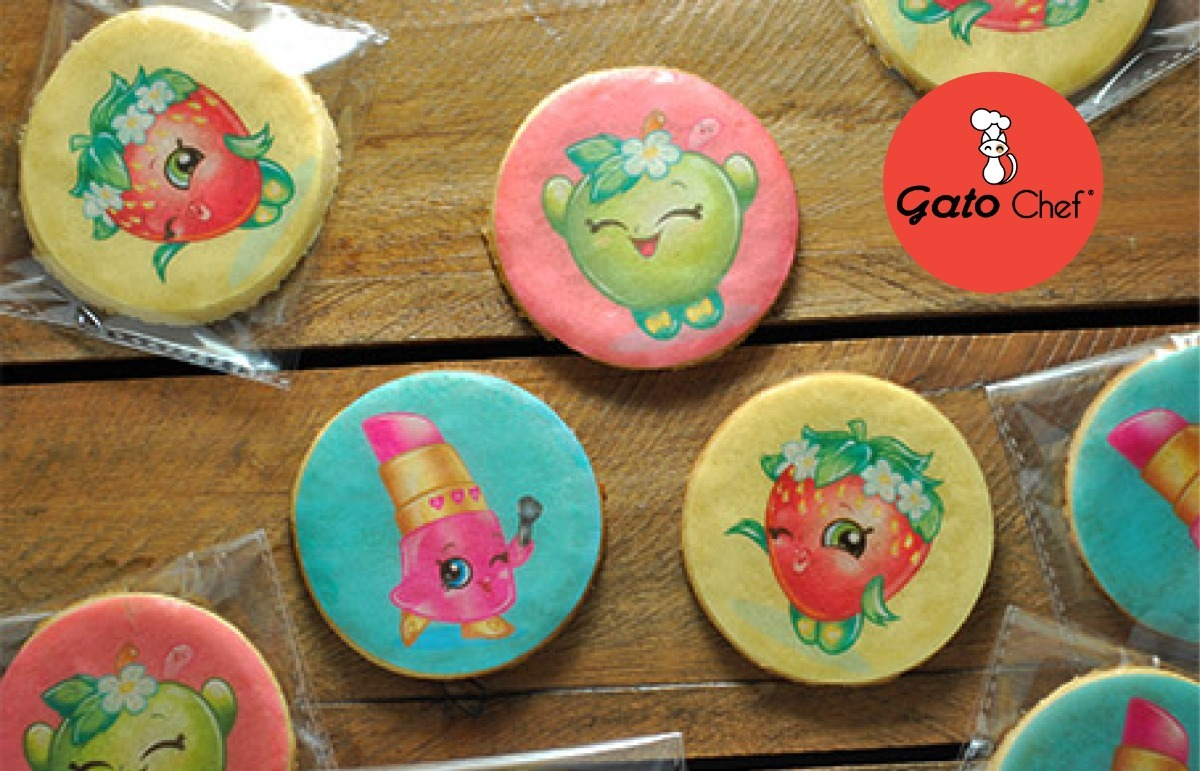Latas De Galletas Decoradas Galletas Decoradas Personalizadas Shopkins
