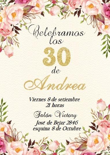 Invitaciones Boda , 15 Años ,cumpleaños , Tarjetas Novedad - $ 15,00