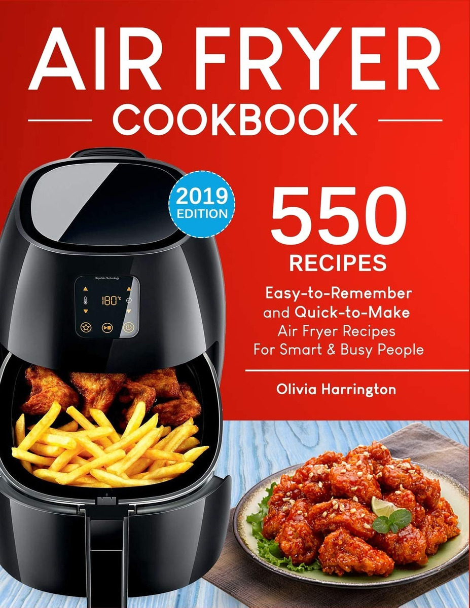 Remember Libro Libro Air Fryer Cookbook 550 Easy To Remember And Quick To