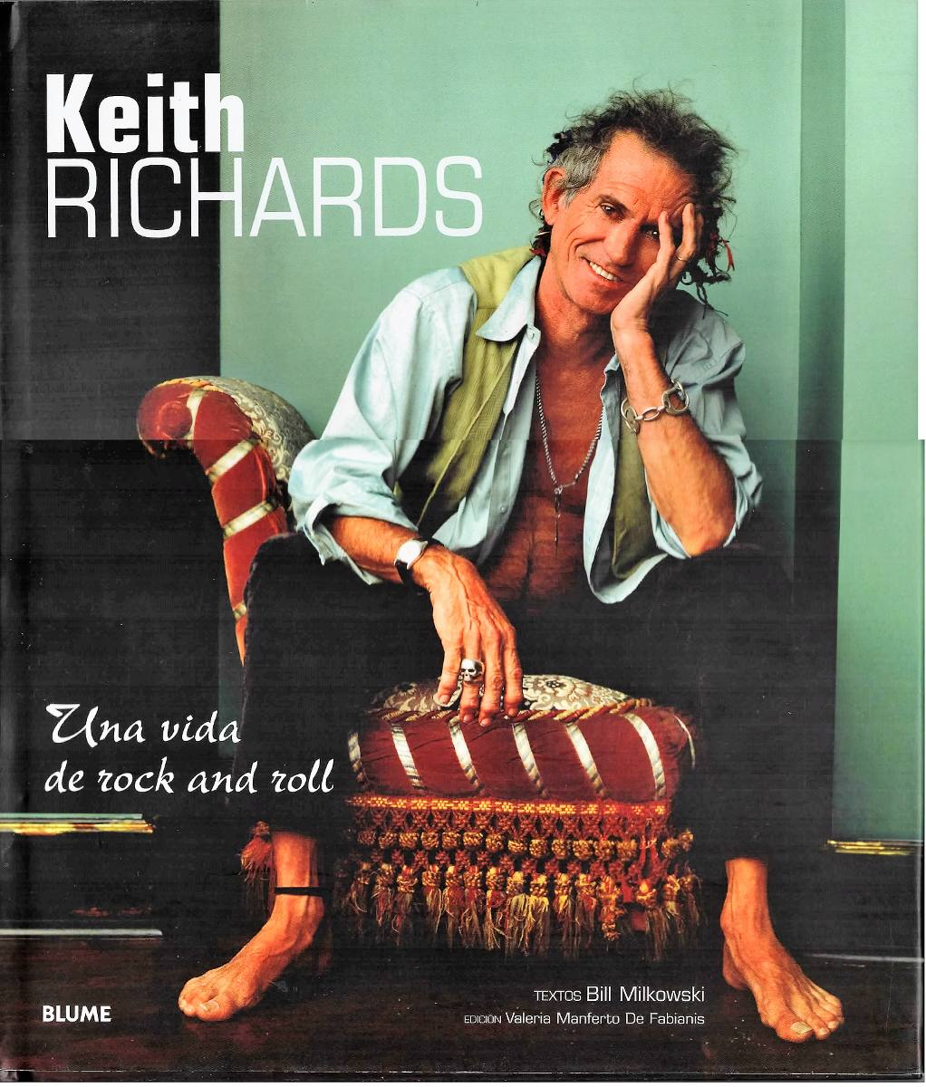 Libro De Keith Richards Libro De Keith Richards De Bill Mikowski