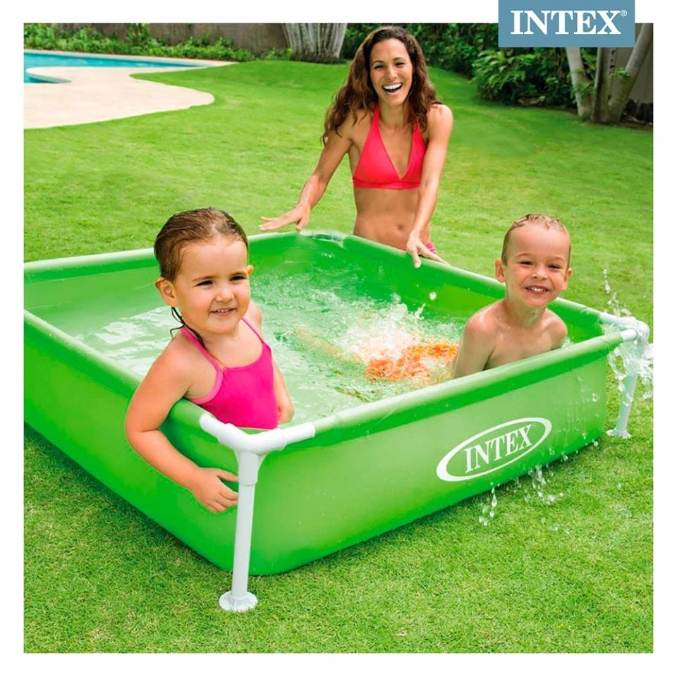 Piscina Intex Niños Piscina Intex Bebe Mini Frame Estructura Infantil Mod 57172