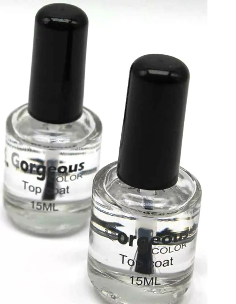 Gel Para Uñas Sin Lampara Top Coat Para Uñas Sellador Sin Lampara Hermoso Toque