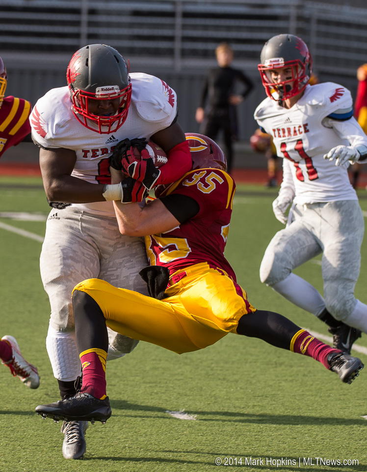 Prep football mountlake terrace advances to first round for Terrace johnson