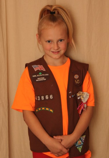 Annberly S. (Photo courtesy Girl Scouts)