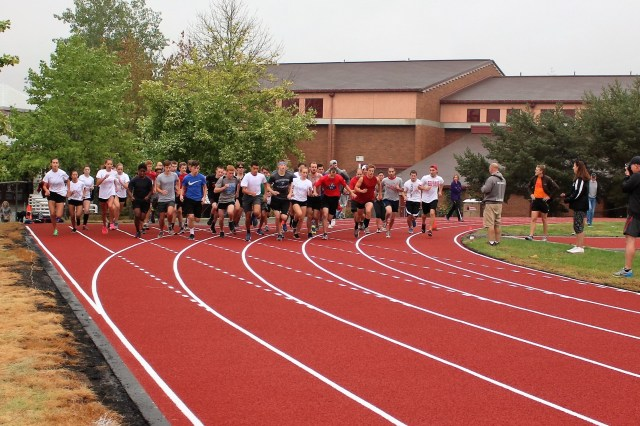 Upgrades complete for mths track other athletic surfaces for Terrace jogging track