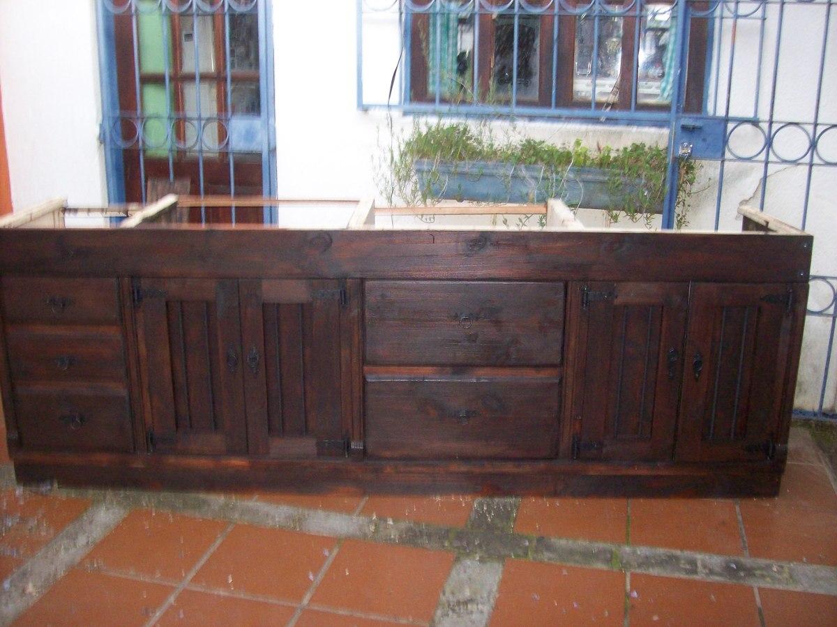 Muebles Cocina Rusticos Madera   Muebles De Cocina Madera Rustica ...