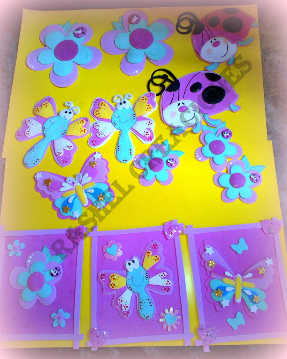 Como Decorar Una Carpeta Para Niños Folder Decorados Con Foamy Imagui