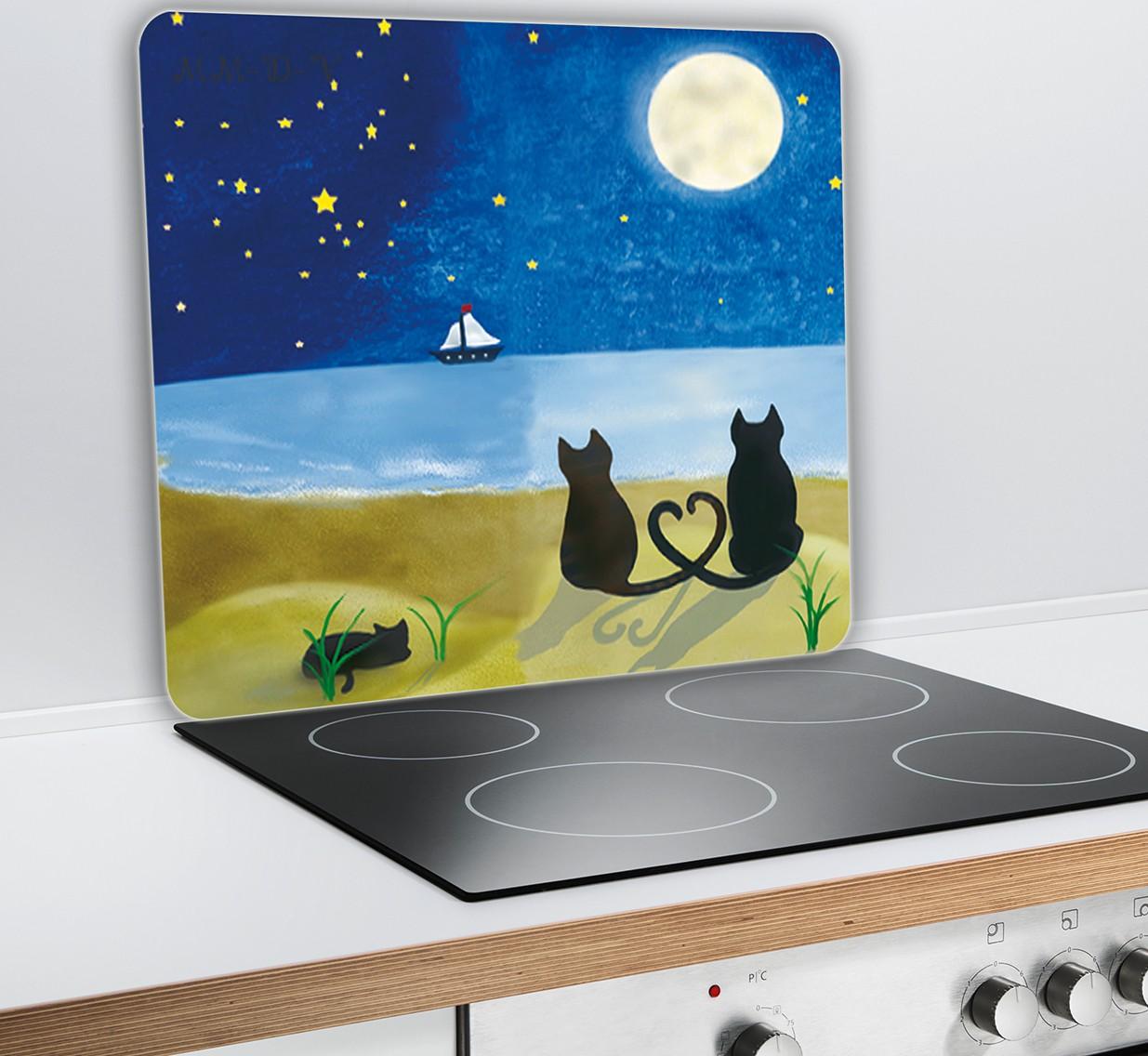 Spritzschutz Küche Platte