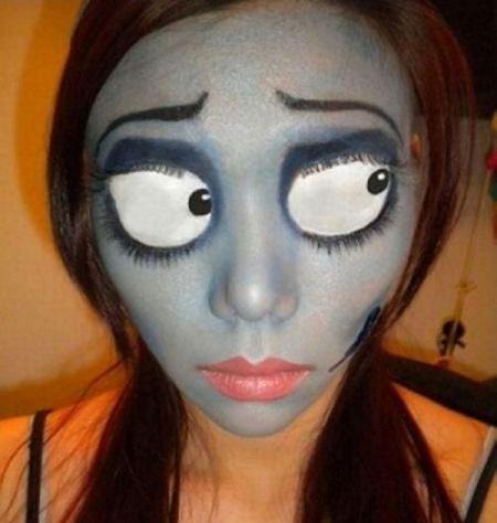maquillaje de novia cadáver Halloween!!! Pinterest Makeup