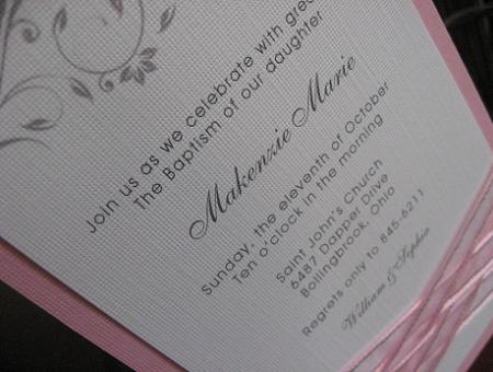 invitaciones bautizo fotos ideas para imprimir foto ella