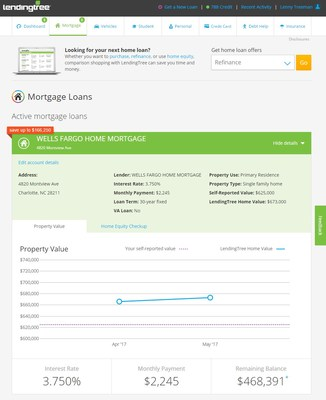 LendingTree Launches Home Valuation Tool for My LendingTree
