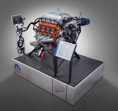 Mopar Unleashes \u0027Hellcrate\u0027 62-liter Supercharged Crate HEMI
