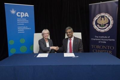 Chartered Accountant Cpa Canadian Cpa Bodies Sign Memorandum Of Understanding With The