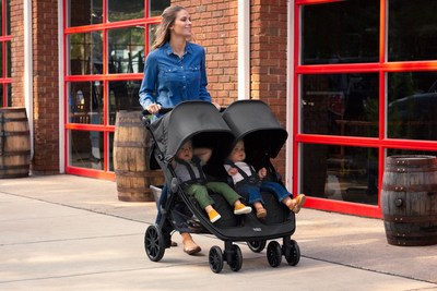 Britax Double Pushchair Reviews New Britax B Lively Double Stroller Offers Comfort And